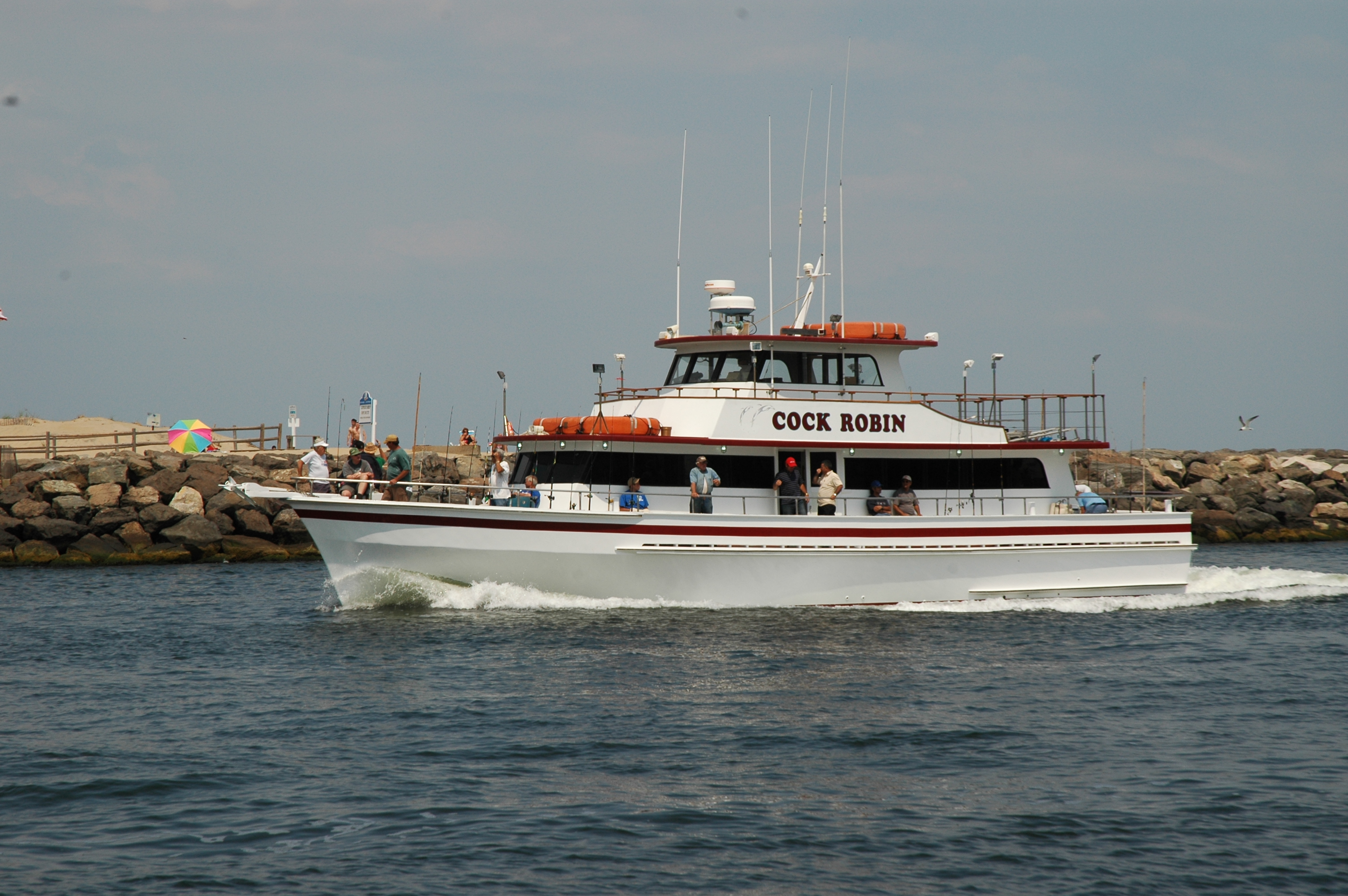 Cock robin party boat